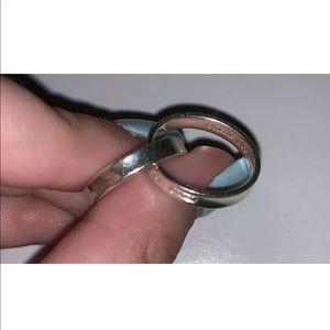 Tiffany & Co Interlocking Circles Ring Sz 7